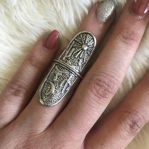NEW! Women's Vintage Bohemian Western Dessert Ring